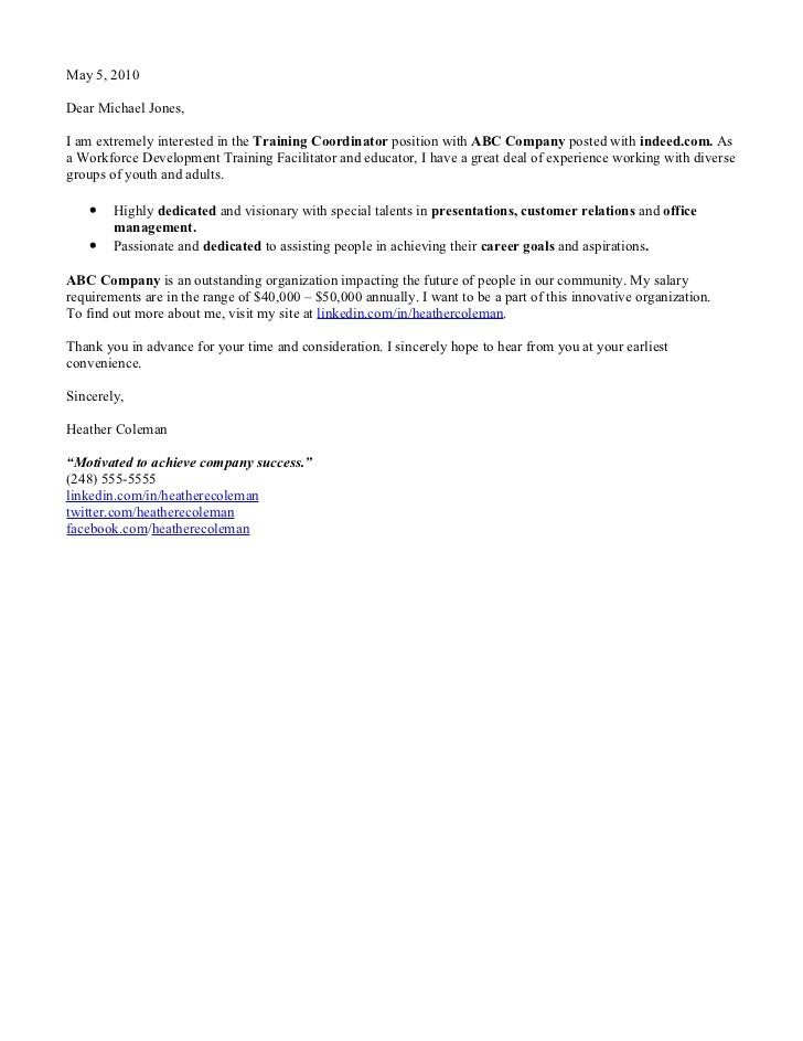 Explore Learning Cover Letter Cover Letter Samples