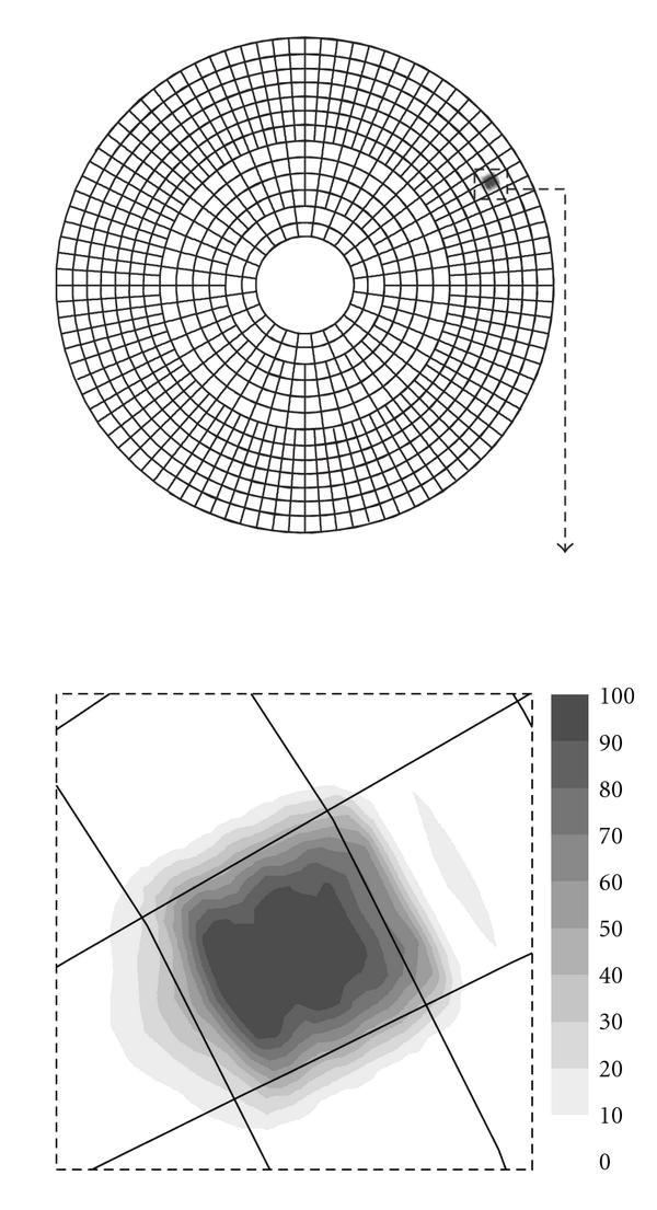 ez 12 parabolic reflector template