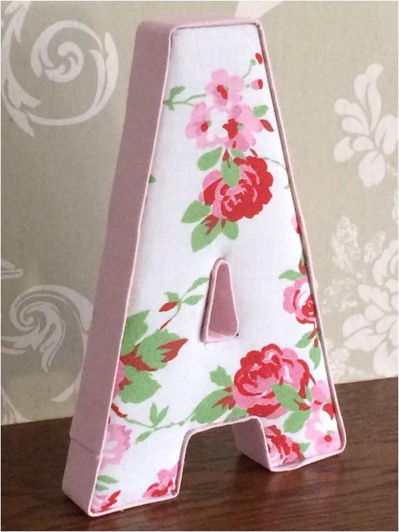 girls bedroom nursery fabric letters