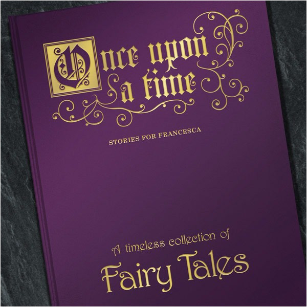 fairy tale book cover template