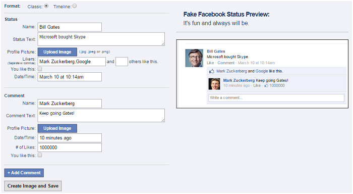 Fake Facebook Message Template Create Fake Facebook Post Message and Twitter Tweets