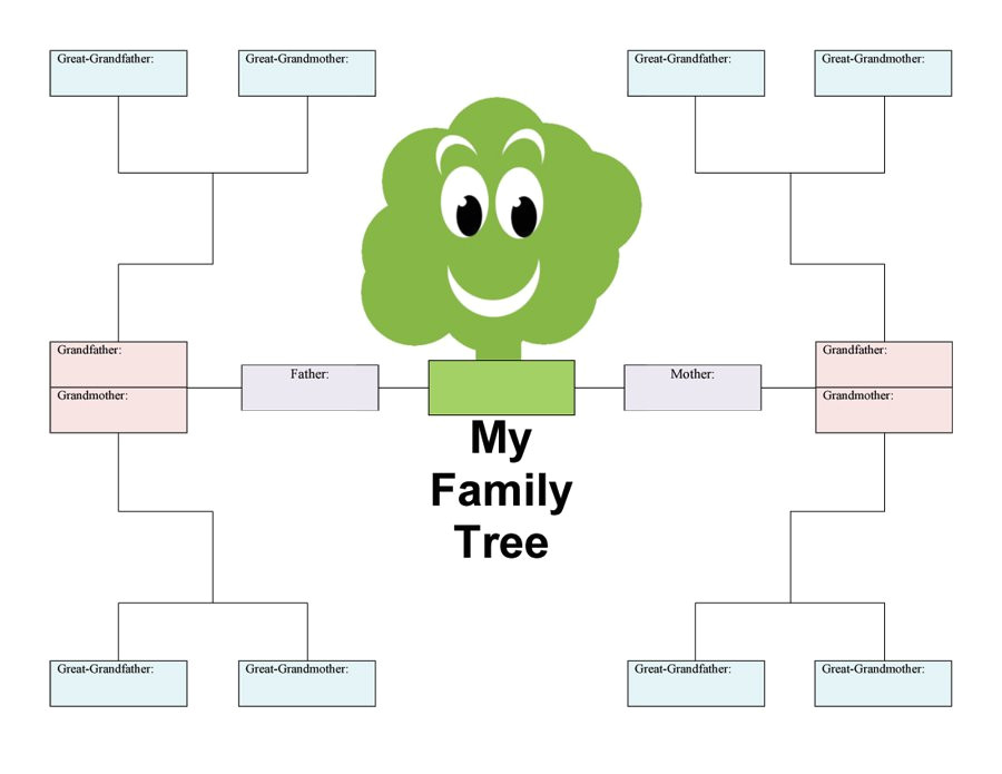Familytree Template 50 Free Family Tree Templates Word Excel Pdf