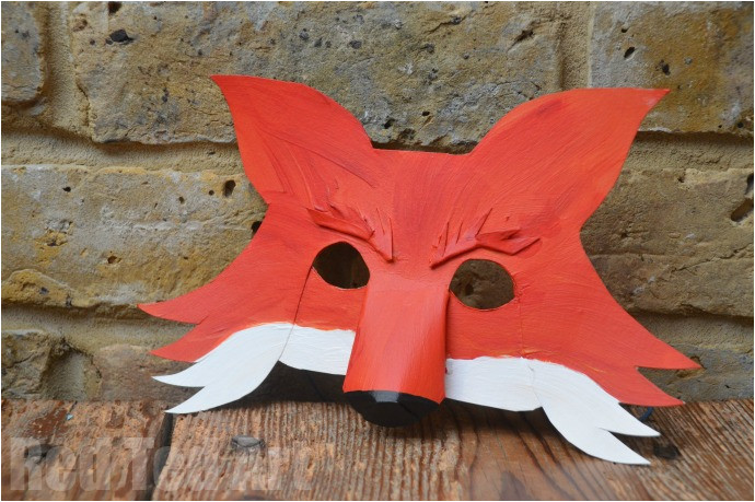 fantastic mr fox mask diy for world book day