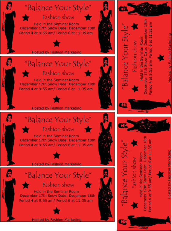 fashion show ticket 146873490