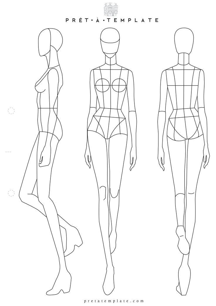 Fashion Sketchbook with Templates the 25 Best Fashion Sketch Template Ideas On Pinterest