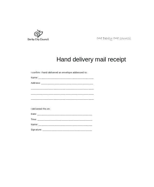 confirmation of receipt confirm of receipt fax receipt confirmation template