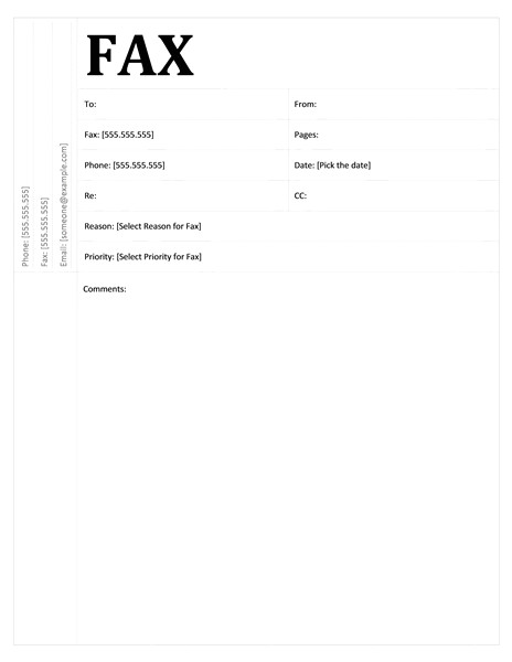 fax cover sheet academic design tm16392516