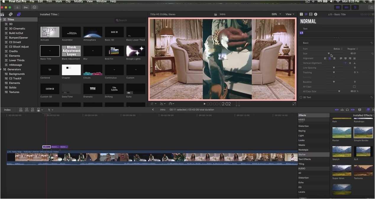 Fcpx Intro Templates Awesome Youtube Intro Templates Final Cut Pro X Kinoweb org