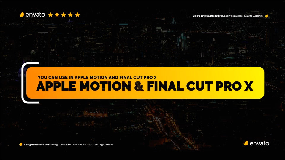 modern promo titles pack for fcpx download videohive 20587062