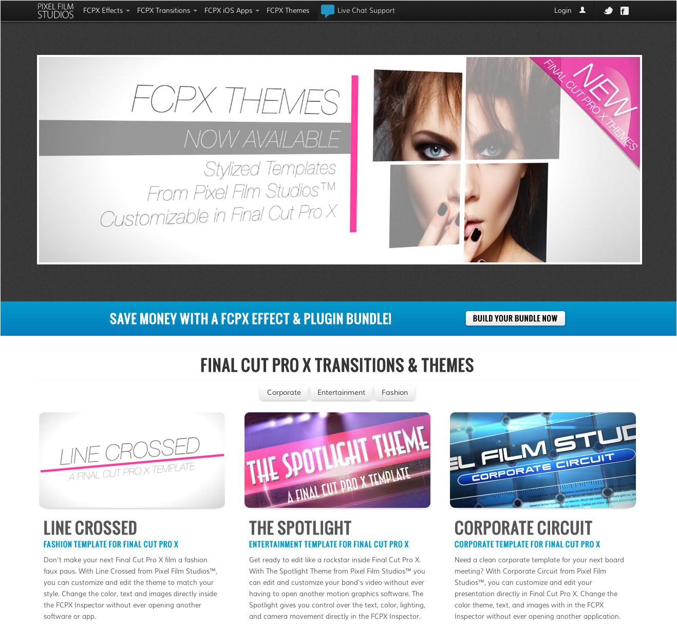 Fcpx Trailer Templates Pixel Film Studios Announces New themes for Final Cut Pro X
