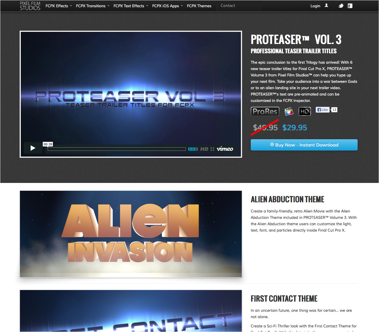 Fcpx Trailer Templates Pixel Film Studios Releases Proteaser Volume 3 Teaser