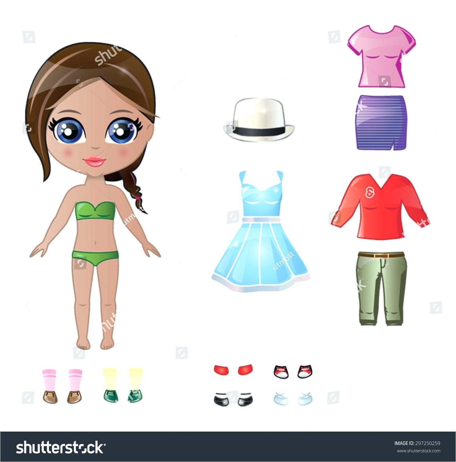 Felt Dress Up Doll Template Felt Dress Up Doll Template Image Collections Template