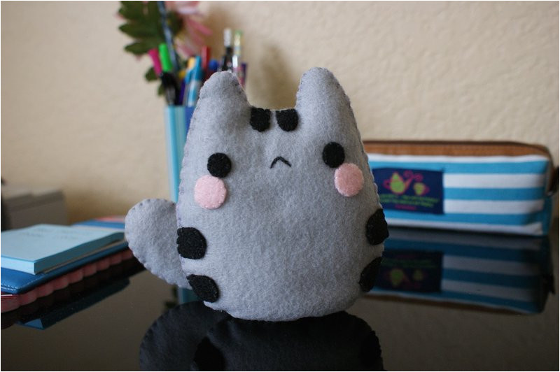 baby pusheen plushie tutorial template link 384709112