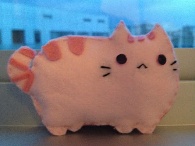 Felt Plushie Templates Diy Pusheen Felt Plushie so Easy Http Miserychic