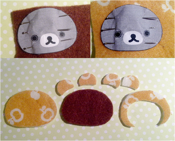 Felt Plushie Templates Felt Tutorial Rilakkuma Plushie Craft Candies