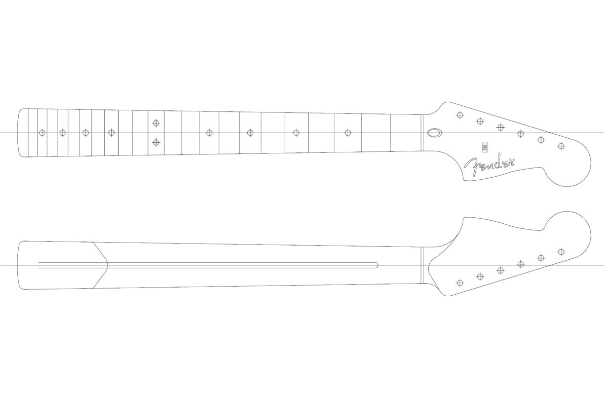 fender toronado building templates