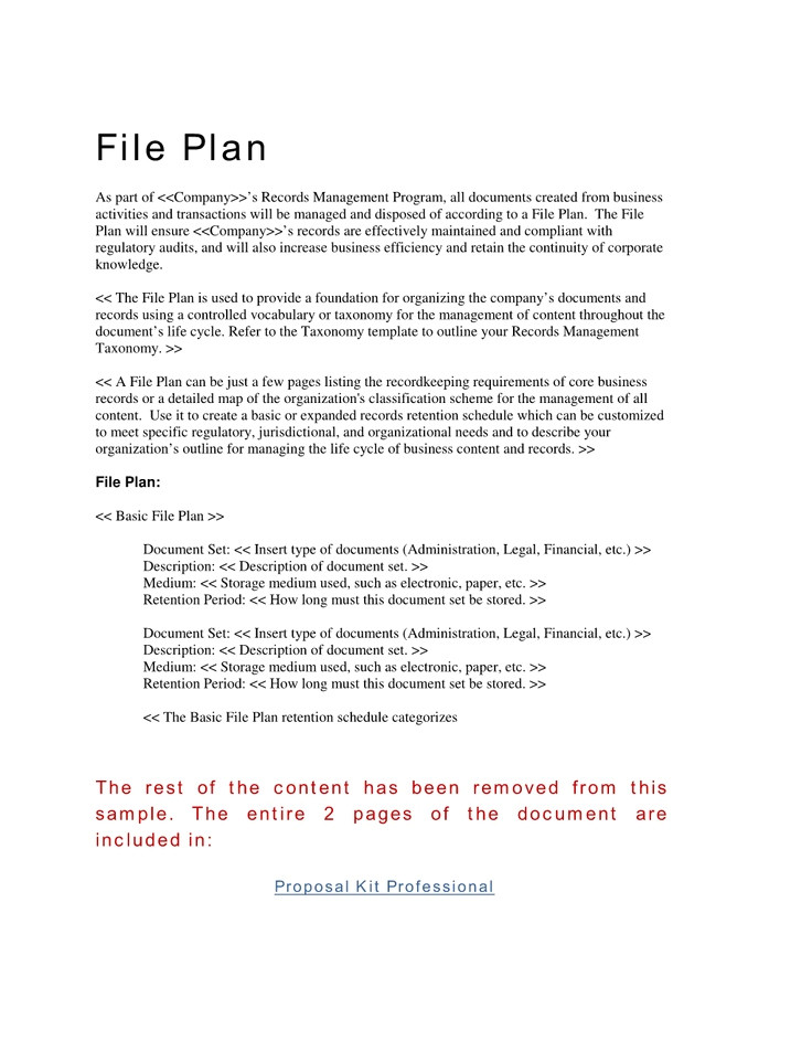 File Plan Template Records Management 25 Best Ideas About Records Management On Pinterest