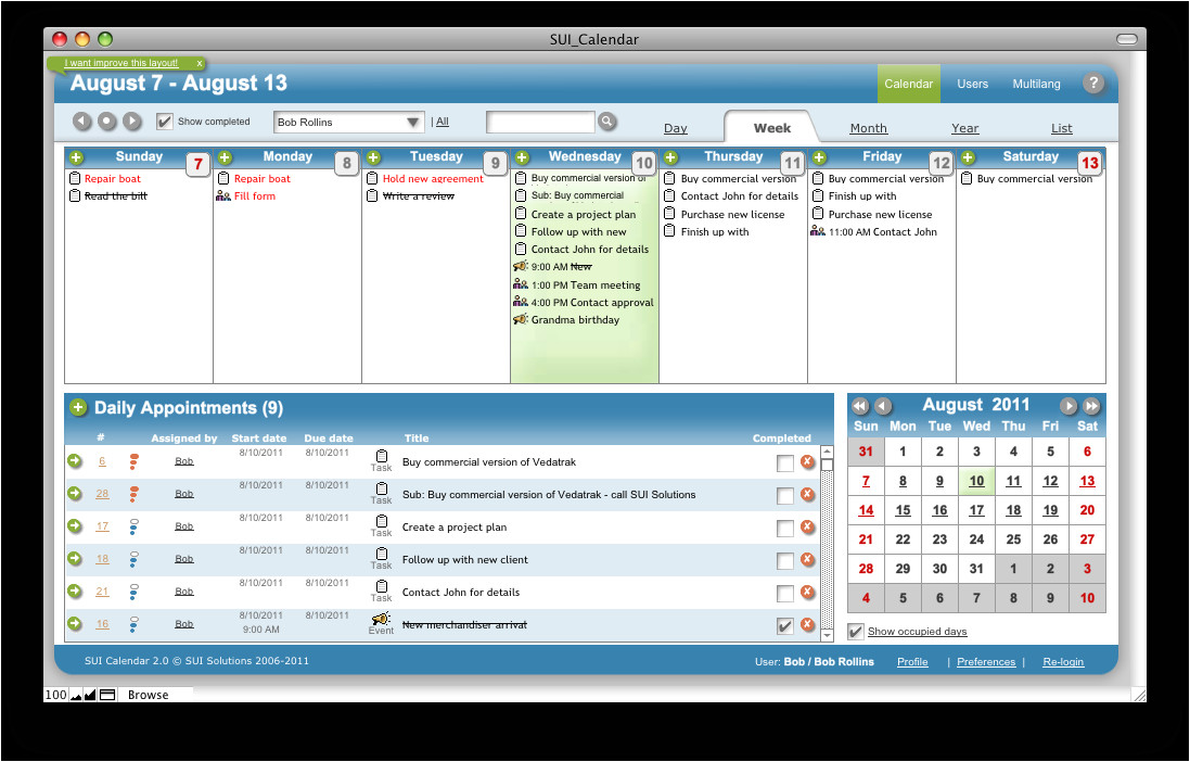 Filemaker Pro Calendar Template Free Sui Calendar A Filemaker Pro Calendar Template Available