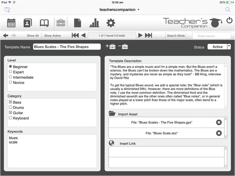 filemaker purchase order template