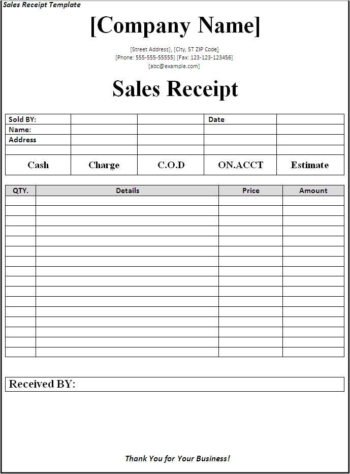 post fill in the blank receipt 98999