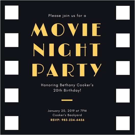 Film Premiere Invitation Template Movie Premiere Invitation Template Www Pixshark Com