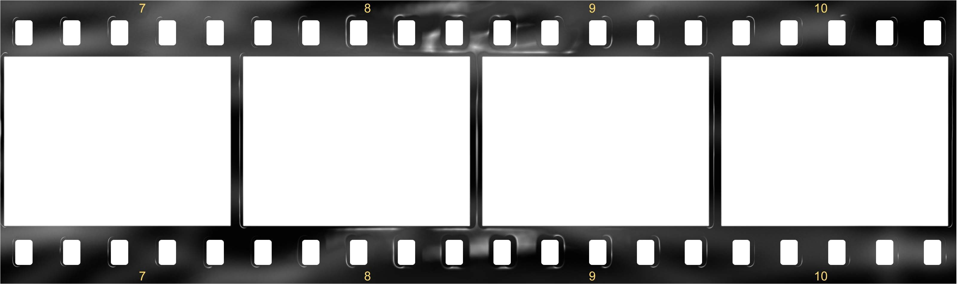 post film strip template photoshop psd 345050