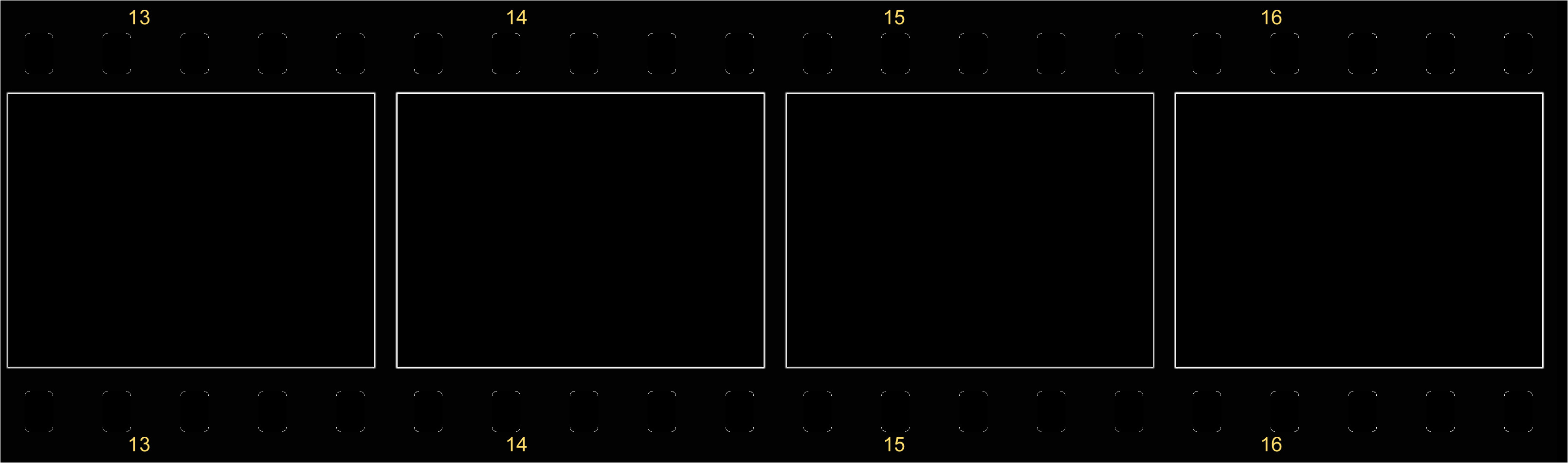 blank film strip template