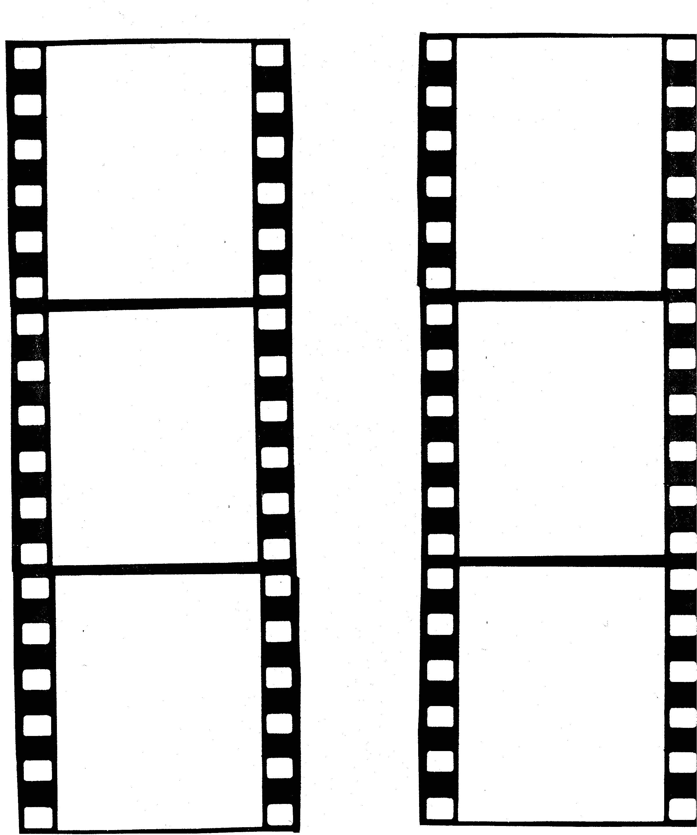 Film Strip Picture Template Filmstrip Template Clipart Best