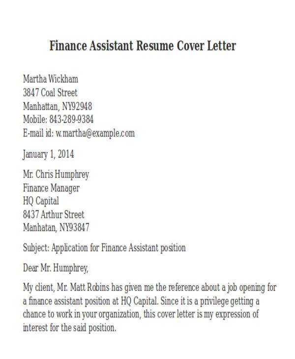 professional finance resumes