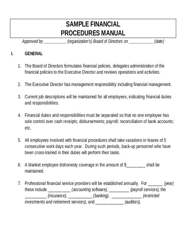 sample user manual template