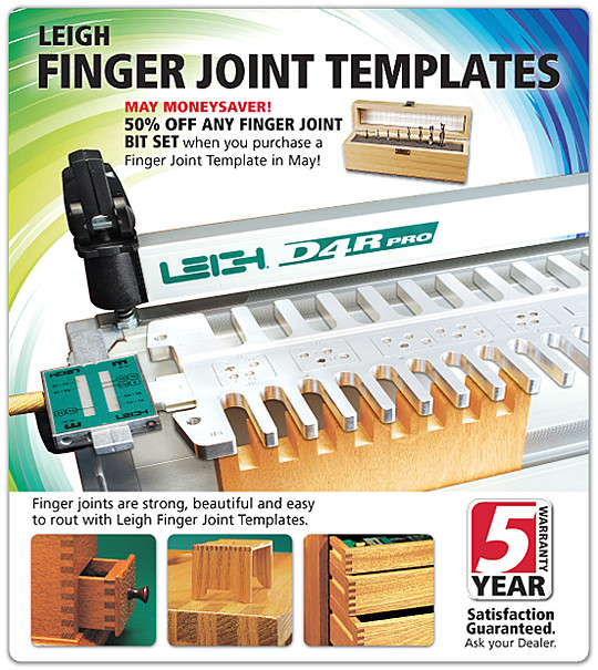 Finger Joint Template Leigh Has New Finger Joint Templates Sandal Woods
