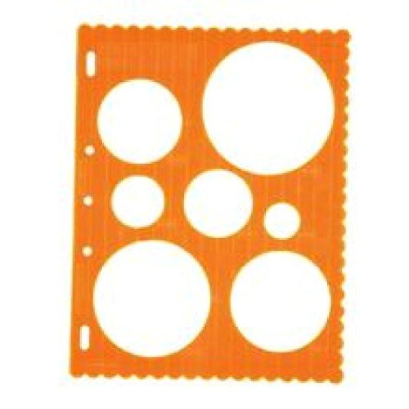 Fiskars Shape Cutter Templates Buy Fiskars Shape Template Circles Online In India at