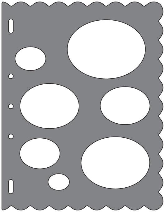 shapetemplate ovals