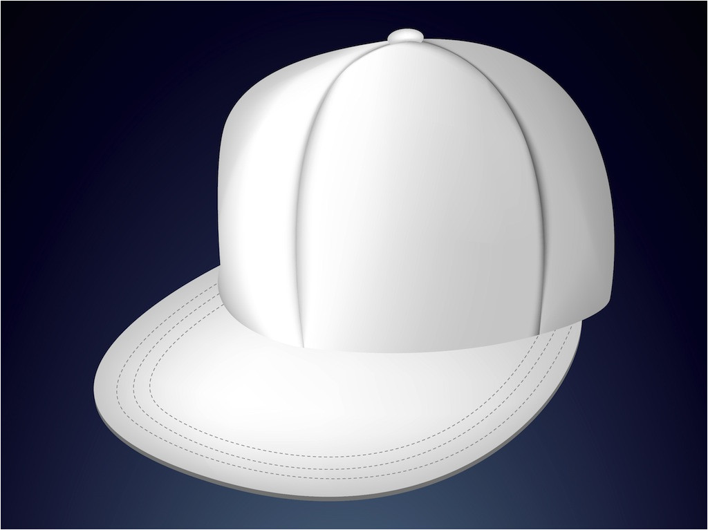 Fitted Hat Template 18 Cap Design Template Images Baseball Cap Design