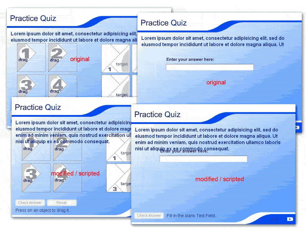 11676 flash mx 2004 quiz templates