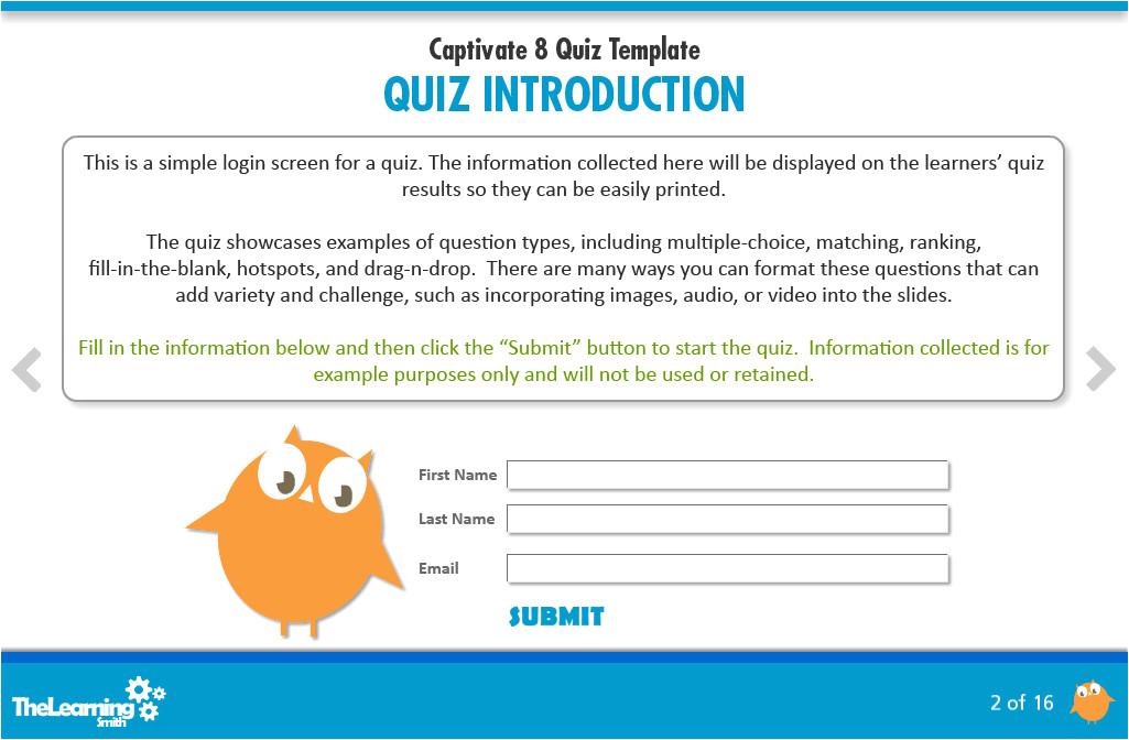 captivate 8 quiz template