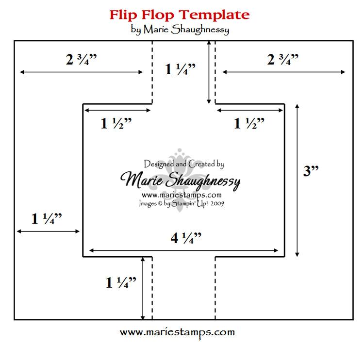 fun fancy folds 2 flip flop
