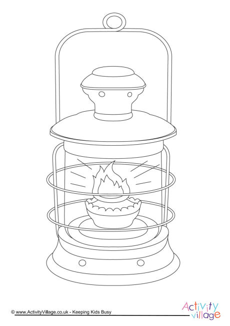 florence nightingale lamp coloring page sketch templates