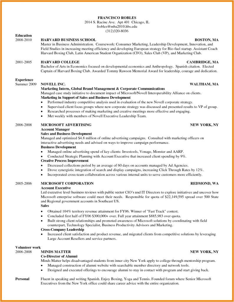 fluent in spanish resume sample