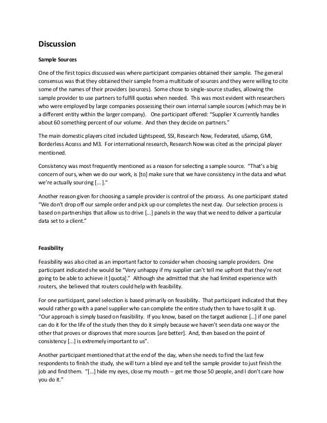 arf foq2 router focus group report final