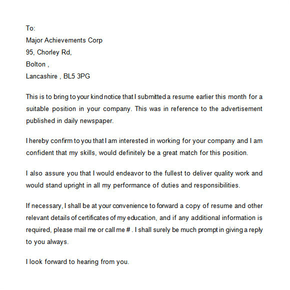 Follow Up Cover Letter after Submitting Resume Follow Up Cover Letter Email Reportthenews631 Web Fc2 Com