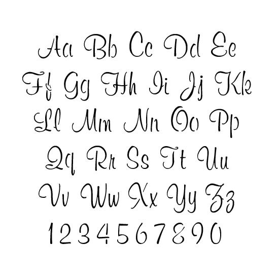 Font Templates to Print Best 25 Alphabet Stencils Ideas On Pinterest