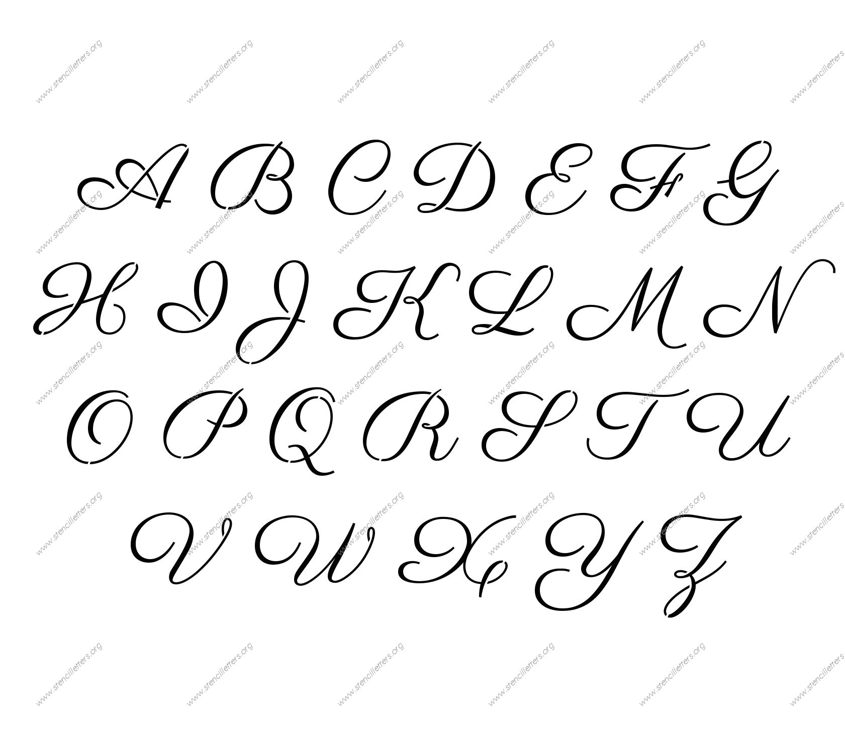 Font Templates to Print Free Printable Stencil Letters 5 Inch 1000 Ideas About