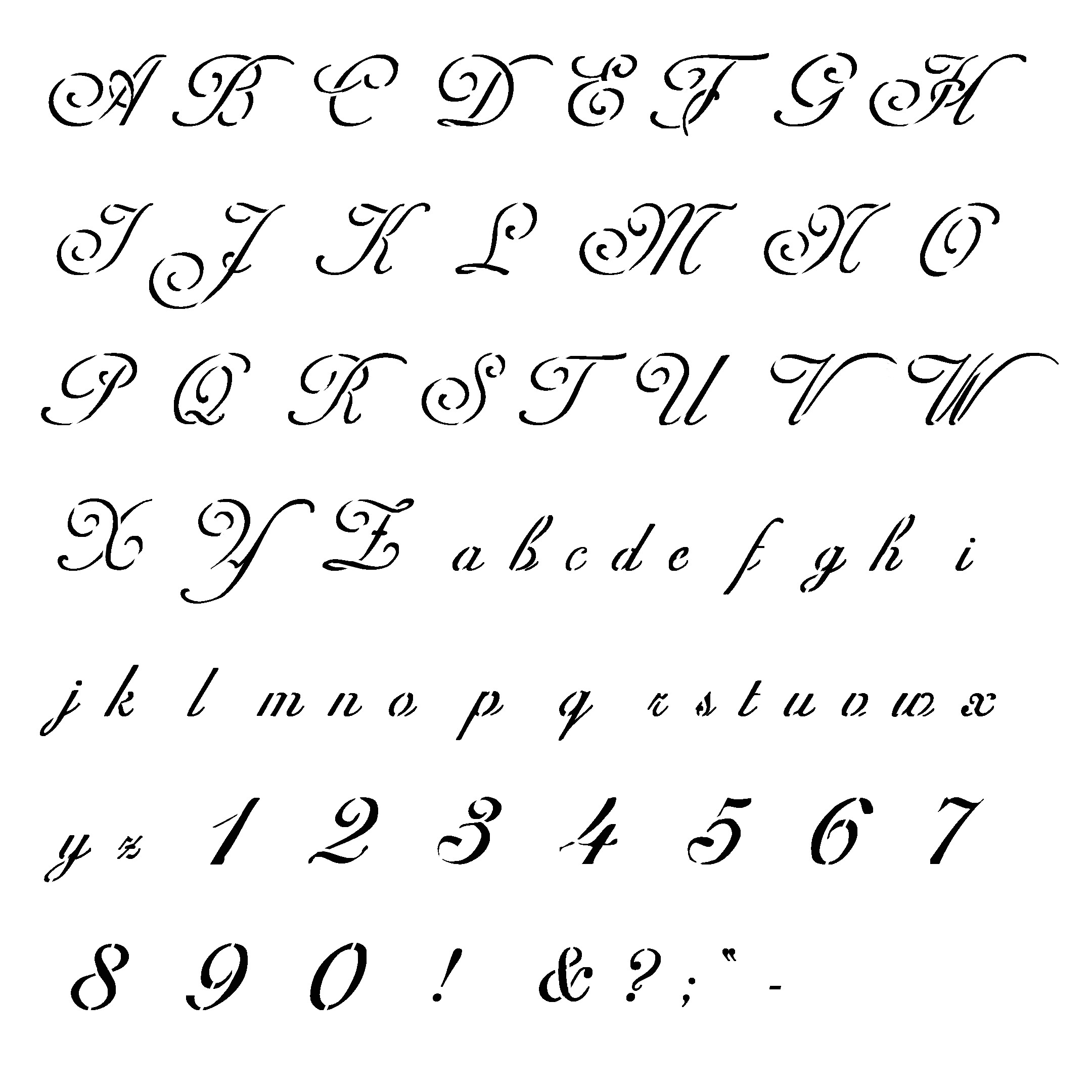 Font Templates to Print Tattoo Schriften Vorlagen 40 Designs Posts