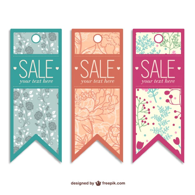sale tags free templates 718414