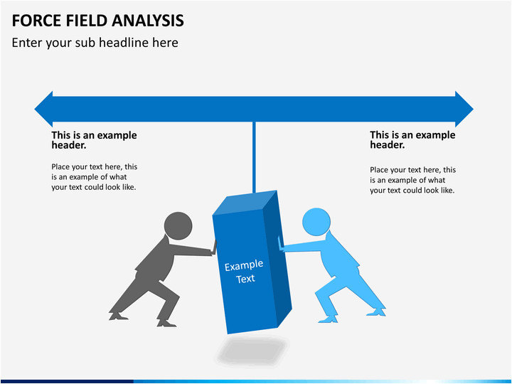 powerpoint force field analysis