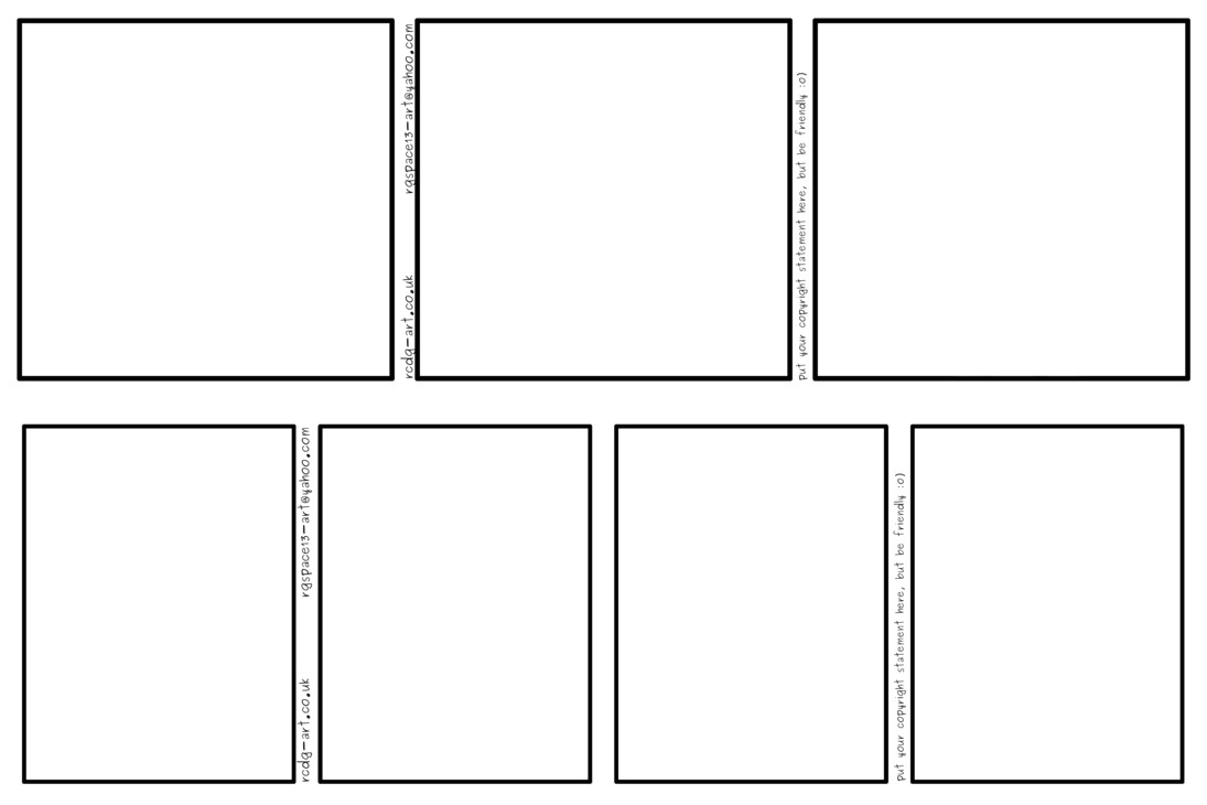comic strip templates 3 panel and 4 panel 488994078