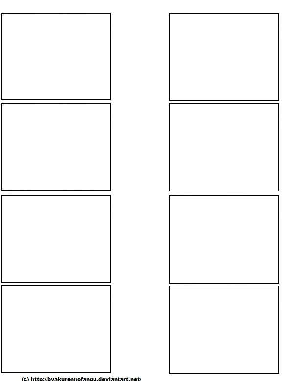 four panel comic template x2 125455289