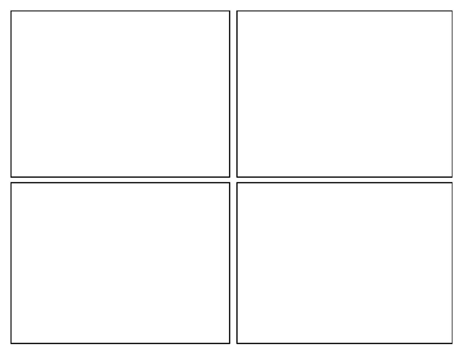 comic templates