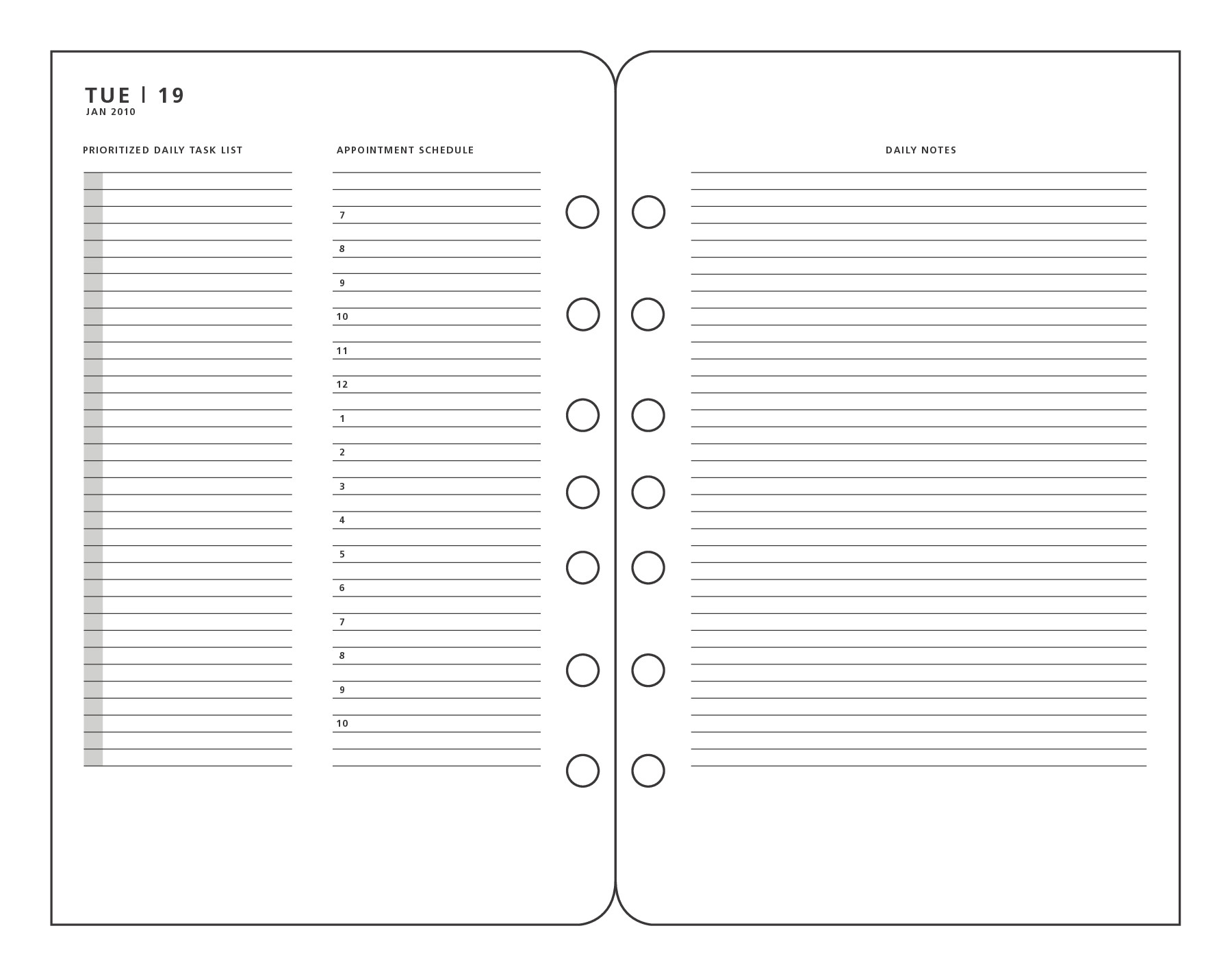 post franklin covey printable pages 110905